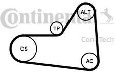 CONTITECH Juego de correas trapeciales poli V para VW SEAT AUDI A3 6PK1070K1