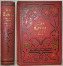 1902 JOHN MAVERELL A TALE OF THE RIVIERA BY JOHN DUNCAN CRAIG FRENCH COAST NOVEL