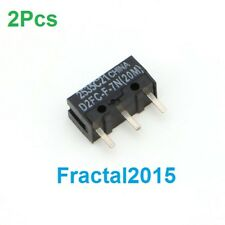 2Pcs D2FC-F-7N 20M Micro Switch For Mouse Replacement