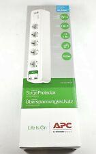 APC PM5U-GR Überspannungsschutz 5x Schutzkontakt 2x USB 2,4A Steckdosenleiste