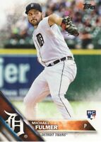2016 Topps Update Baseball #US152A Michael Fulmer RC Detroit Tigers