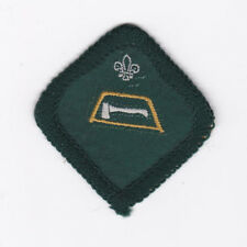 1970's BRITISH / UNITED KINGDOM (UK) SCOUTS - FORESTER SCOUT PROFICIENCY BADGE