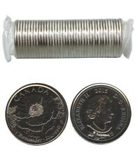 2015 25-Cent Original Roll - In Flanders Fields - 25¢ Remembrance Poppy Quarter