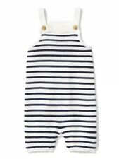 Janie and Jack Striped Sweater Overall
