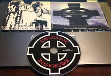 very rare 1st album cd oi isd skinhead punk rock o rama rebelles europeens oop