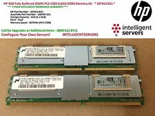 HP 4GB completamente buffered DIMM PC2-5300 2x2GB KIT MEMORIA DDR2 * 397413-B21 *