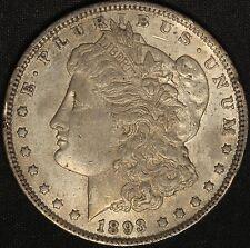 1893 Morgan Silver Dollar - Better Date Sharp Circulated Coin Free  Shipping USA