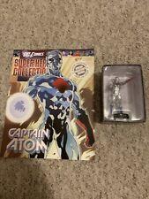 DC COMICS SUPER HERO COLLECTION ISSUE 68 CAPTAIN ATOM EAGLEMOSS FIGURINE + MAG