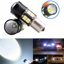 2X 12W Xenon White 1156 S25 P21W CREE R5 LED 12-SMD Backup Reverse Lights Bulbs