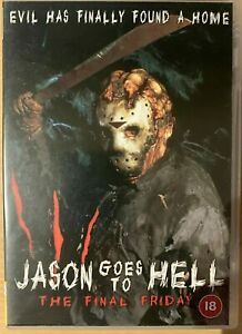 Jason Goes to Hell DVD Uncut 1993 Final Friday 13th Vorhees Slasher Horror Film
