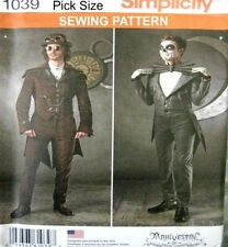 simplicity Male Suit Sewing Patterns