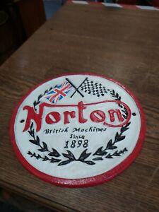 Norton Cast Iron Sign