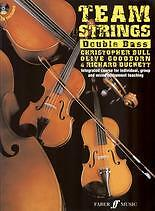 TEAM STRINGS Double Bass Book & CD