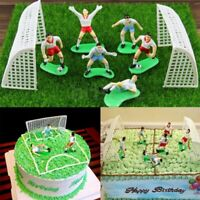8Pc Fußball Fußball Kuchendeckel Spieler Dekoration Werkzeug Geburtstag Formform