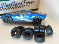 8 URETHANE TIRES Ford  COX 1/32 Us