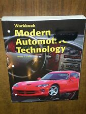 NEW Modern Automotive Technology Workbook