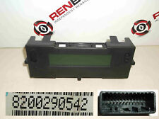 Renault Laguna 2005-2007 Centre Dashboard Radio Display Clocks Dials 8200290542