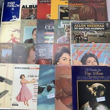 20 Lot Records Vinyl Easy Listening Classical Pop Oldies Albums