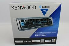Kenwood KMR-D368BT Marine CD/WMA/MP3 Player Bluetooth Pandora iHeart Radio