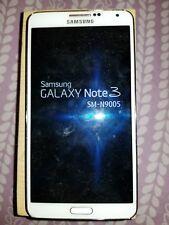 Samsung Galaxy Note 3 SM-N9005 64GB  Classic White Smartphone Factory Unlocked