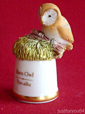Animals/Birds Sutherland Collectable China Sewing Thimbles
