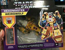 Transformers Generations G1 Retro Headmaster Weirdwolf IN HAND New Sealed