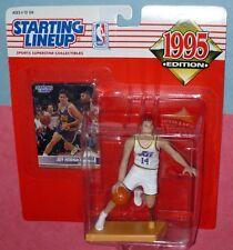 1995 Jeff Hornacek 1st & only Utah Jazz - Free s/h - Starting Lineup Kenner slu