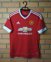 Manchester United Jersey 2015 2016 Shirt SMALL Home Soccer Football Adidas