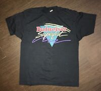 Vintage Budweiser Superfest T Shirt Tagged XL LL Cool J BBD Keith Sweat Rap Tee