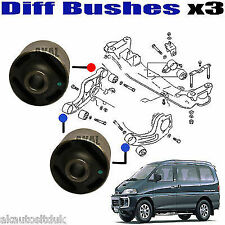 FOR MITSUBISHI DELICA L400 SPACE GEAR 94-04 ARM BUSH 4 DIFF / DIFFERENTIAL MOUNT
