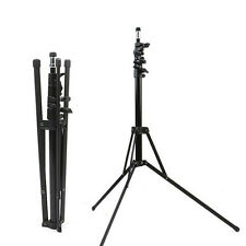 7ft Portable Foldable Studio Strobe Flash Light Stand  2m Adjustable Metal Mount