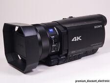 Sony FDR-AX100E Camcorder 4K Ultra HD schwarz AX100 E Händler OVP - TOP Zustand