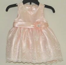 American Princess Peach Sleeveless Pageant, Wedding Easter Dress Sz 9 mon NWOT I