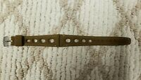 OEM NOS vintage Stylecraft 60`s Military green GT Divers CORFAM 19mm watch strap
