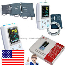 24Hours NIBP Monitor Ambulatory Blood Pressure Monitor Holter,software,3 cuff,US