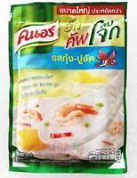Knorr Cup Jok Instant Rice Porridge Shrimp Crab Stick Flavoured Easy Cooking 55g