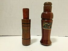 "Vintage - "" J C Higgins "" Duck Call & Unmarked Game Call - Game Calls"