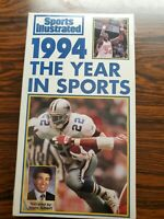 Sports Illustrated The Year In Sports 1994 VHS Tape
