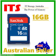 SanDisk 16GB SDHC Memory Cards, Class 4