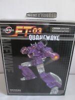 Transformers DHL Fan Toys FT-03T Quakewave Masterpiece Shockwave 1ST edition