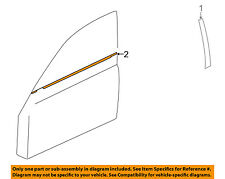 MITSUBISHI OEM Lancer-Door Window Sweep-Belt Molding Weatherstrip Left 5727A005