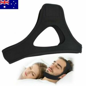 AU Snoring Solution Anti Snoring Chin Strap Best Stop Snoring Device-Comfortable