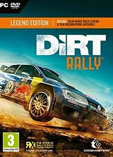 Dirt Rally Legend Edition (PC DVD) Unsealed FIA Kids Boys Car Racing Game Rare