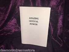 AMAZING CRYSTAL POWER Finbarr Occult Magic Black White Grimoire Magick Healing