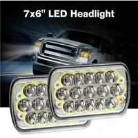 Pair 5x7'' 7x6'' Upgrade LED Headlights w/ DRL for Toyota Hilux 88-97 Pickup