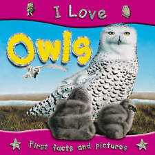 I Love Owls, Parker, Steve, New Book