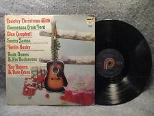33 RPM LP Record Country Christmas Various Artists Pickwick 33 SPC-1012
