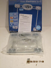 TAYLOR SCALE 7527- CLEAR GLASS PLATFORM, FREE SHIPPING, BRAND NEW IN OEM BOX!!!!