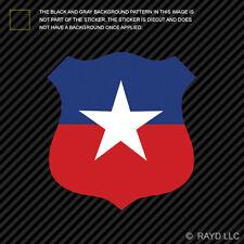 "4"" Chilean Air Force Roundel Sticker Die Cut Decal FACh Chile CHL CL"