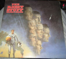 The Right Stuff on laserdisc and in great shape!